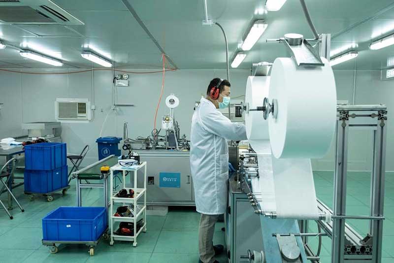 بیزینس پلن تولید ماسک N100 ویزای استارتاپ کانادا