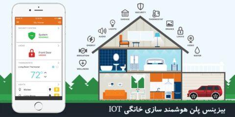 Smart Home بیزینس پلن هوشمند سازی خانه اتوماسیون خانگی IOT