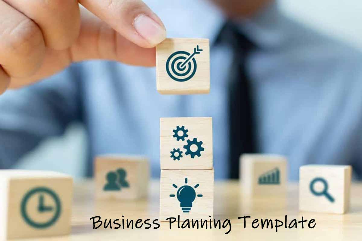 Business Planning Template فرم خام بیزینس مدل دانلود رایگان فرم خام طرح کسب و کار توجیهی بیزینس پلن