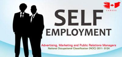 Self Employed ویزای خوداشتغالی کارآفرینی مدیریت تبلیغات روابط عمومی