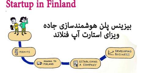 بیزینس پلن ویزای استارتاپ فنلاند هوشمندسازی جاده Finland Start Up Visa